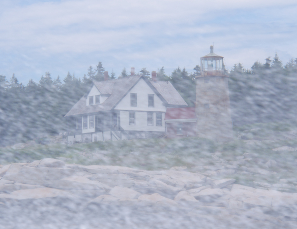 lighthouse/maine